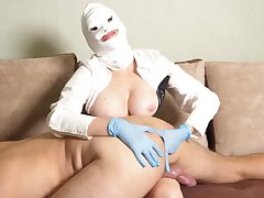 Opinionated Mistress Take Rubber Gloves Fucks Slave Take The Nuisance