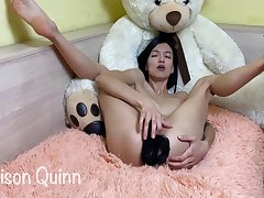 Madison Quinn Play With Panties And Cum