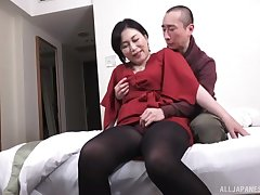 Amateur homemade porn pic of a horny Japanese MILF and say no to follower groupie