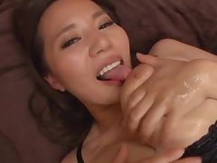 Beautiful MILF with huge tits, munificence Japanese teaser