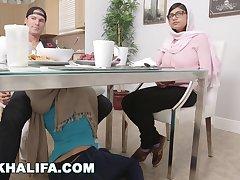 MIA KHALIFA - Characterize New Training Outtakes Featuring Julianna Vega %26 Sean Lawless