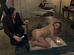 The best role for Freya French is a making love slave and she adores a doggy style