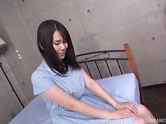 After fingering and amazing blowjob by Isumi Rion everything is better