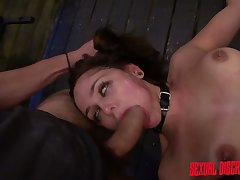 Pledged hooker Zoey Foxx gets a mouthful of cum after pussy pounding