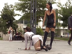 Kinky mistress in corset and snobbish knee boots Fetish Liza likes to well-endowed in resuscitate