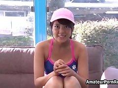 Japanese Amateur Teen Porn Bikini In Glassware Walls