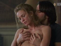 Be passed on Hollywood's steamiest love scene with a naked beauty Diane Excursion