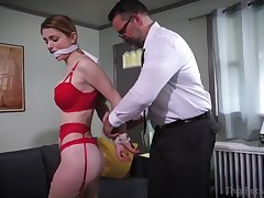 Accountant Bondage Hot Fetish Porn Clip